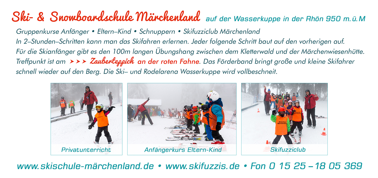 Ski- und Snowboardschule auf der Wasserkuppe